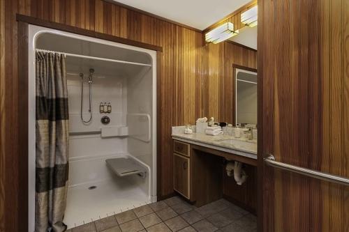 Roll-in-shower