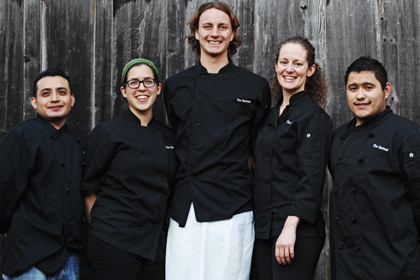 mendocino resort at the stanford inn - chefs at ravens restaurant