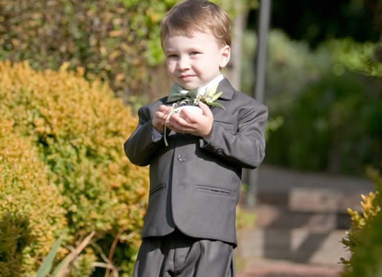 mendocino coast weddings with ring bearer at stanford inn by the sea